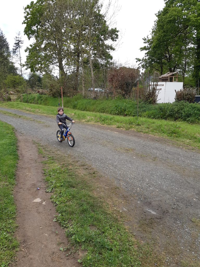 Certains MS savent maintenant faire du vélo
