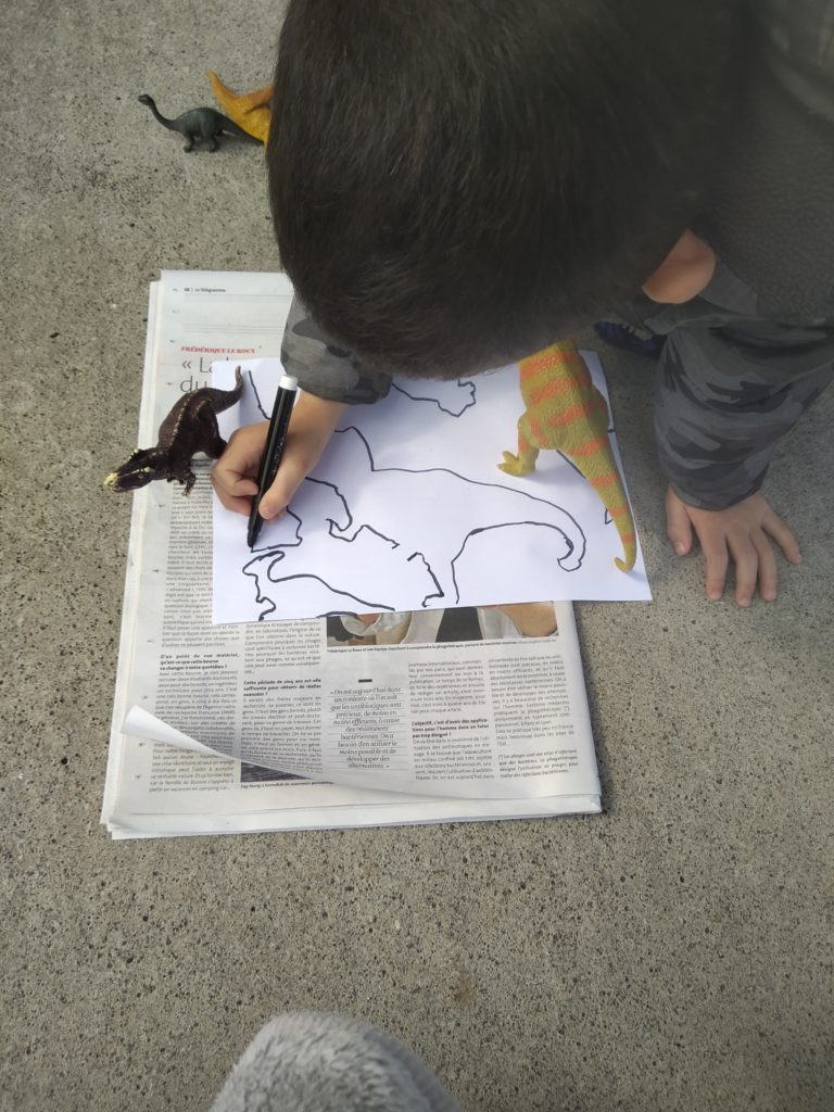 dessiner ombre timéo