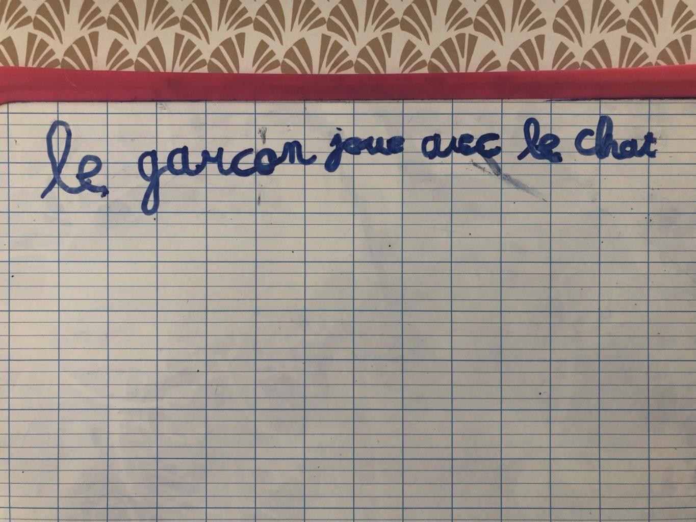 défi phrase Clara GS